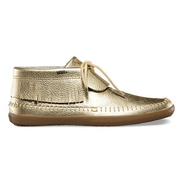 Mohikan Vans- Golden sneakers
