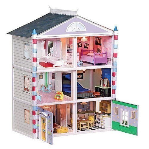 majestic create your own bedroom games. Amazon com  Ideal The Majestic Dollhouse Toys Games