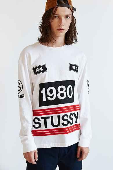 d342095a306 Stussy 1980 Stripe Long-Sleeve Tee Stussy