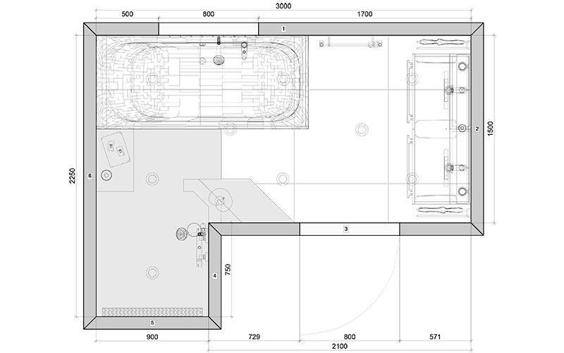 badkamer groningen mooie site met afmetingen plattegrond en 360 filmpjes