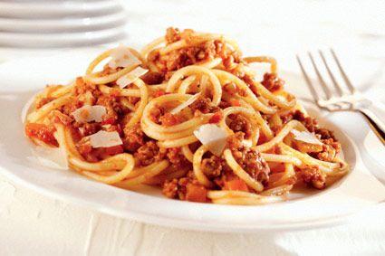 La ricetta spaghetti bolognese