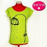 Tričká - Sprcha Sprchatá - v zelenom - 4853788_