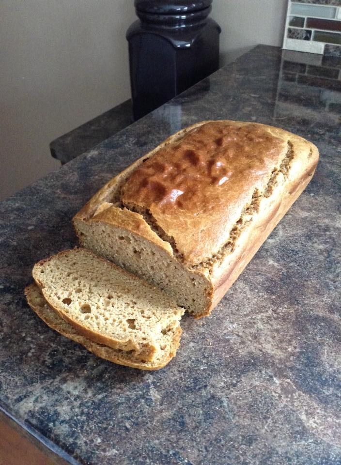 """World-Famous Sandwich Bread Recipe  from """"Against all Grains"""" Cookbook    Ingredients:  · Coconut oil, for greasing pan  · 4 large eggs, separated  · 1 cup raw unsweetened cashew butter  · 1 tbsp honey  · 2 ½ tsp apple cider vinegar  · ¼ cup almond milk  · ¼ cup coconut flour  · 1 tsp baking soda  · ½ tsp sea salt"""