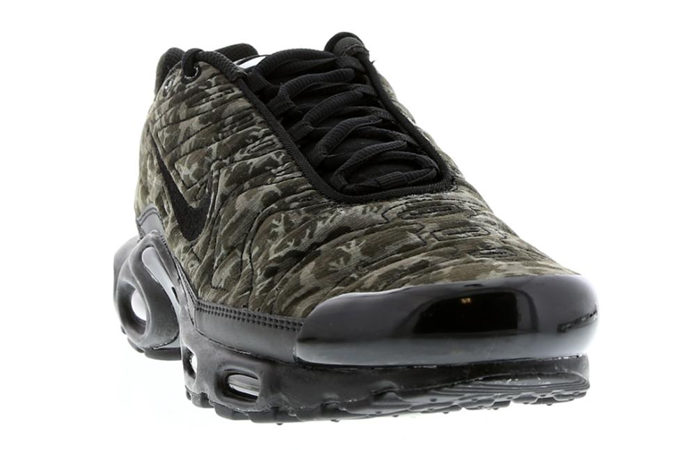 Nike Air Max Plus Tn Matelassé Accordé 1 Camouflage Noir