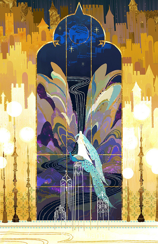 Silent Beautiful Dreams, Kuri's Original Painting Collection, Wu Sheng Gui Meng by Kuri, 无声瑰梦