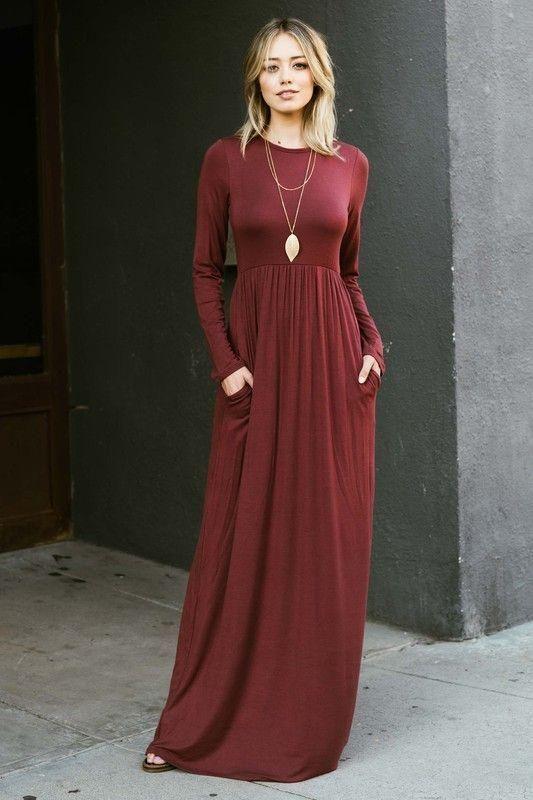 e89299c7d0 The Alicia Maxi Dress