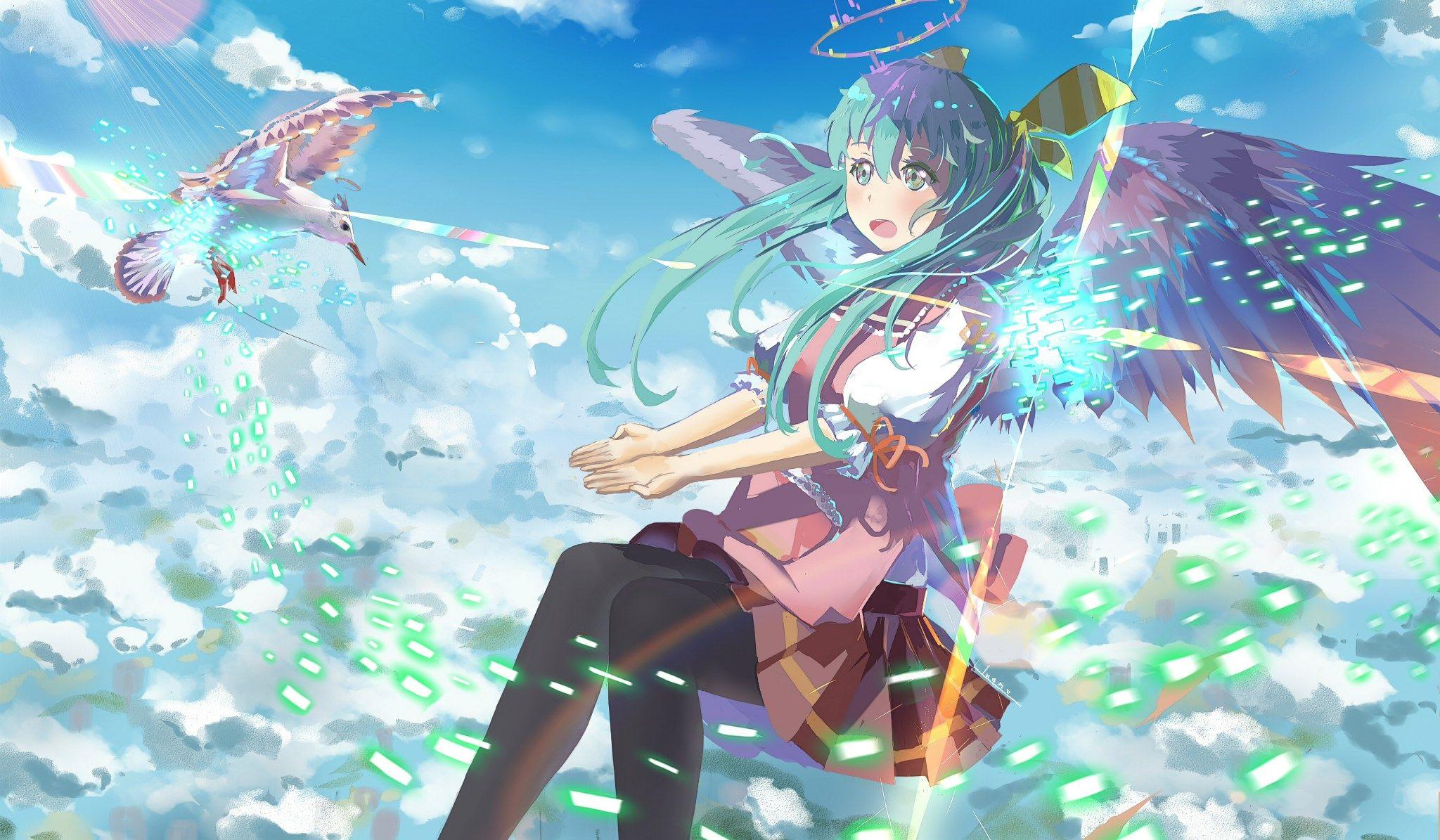 HD Widescreen vocaloid Vocaloid, Hatsune miku, Wallpaper