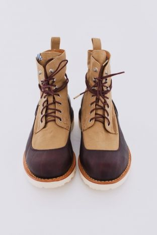 Veritus Boot Folk Dark Brown / Beige