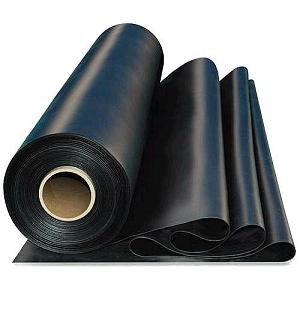 Black Epdm Rubber Roofing Membrane 60 Mil 10x50 Ft Clean Rubber Roofing Epdm Rubber Roofing Epdm Roofing