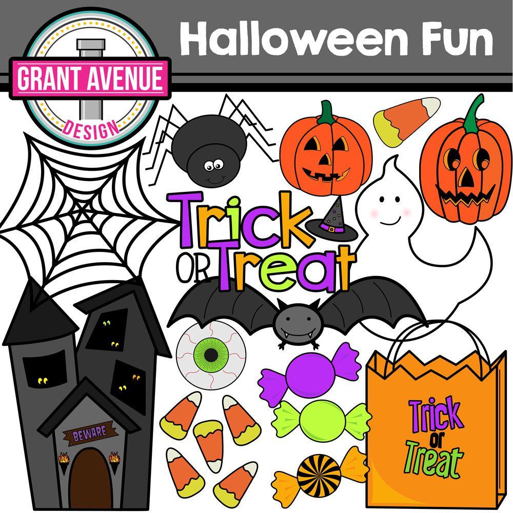 Halloween Clipart Halloween clipart, Clip art, Cute
