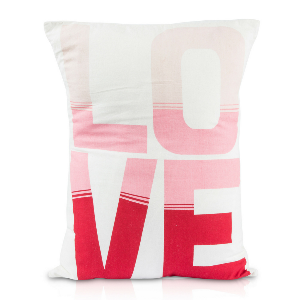 Love Ombre Pillow | Project nursery and Nursery