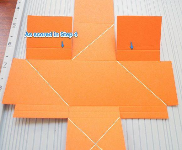 Scor Pal Twist Open Pop Up Photo Box Card Making Tutorials Pop Up Box Cards Scrapbook Box