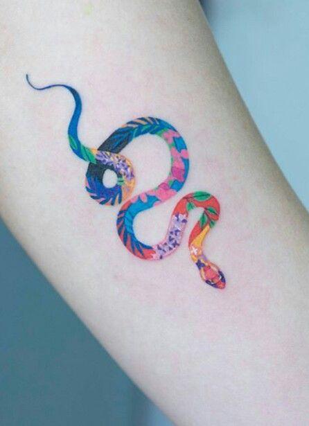 Pin By Abby Neale On Piercings Tattoos Rainbow Tattoos Snake Tattoo Tattoos