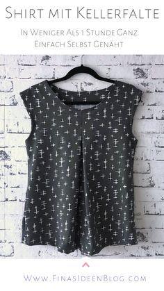 SunnyMe- mit meiner neuen Videoanleitung einfach ein zeitloses Shirt für den Sommer nähen • FinasIdeen
