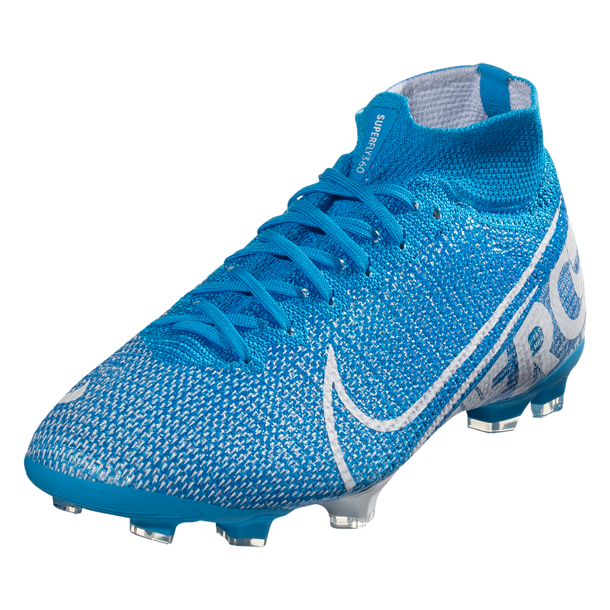 Nike Junior Mercurial Superfly 7 Elite Fg Soccer Cleat Blue White Obsidian 4 5 Soccer Boots Soccer Cleats Girls Soccer Cleats