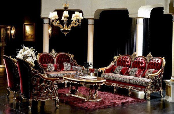 Best of 15 Baroque Designed Living Rooms Awesome - Contemporary Baroque sofa Set Awesome