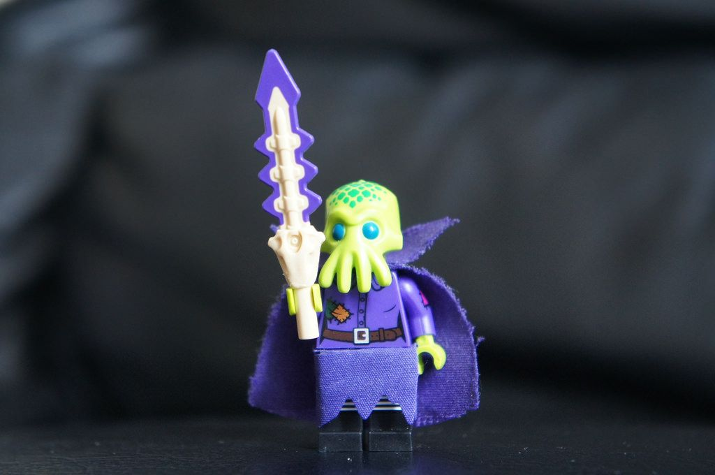LEGO Custom Minifigures - Cthulhu (Marco Hazard) Tags: old one lego ...
