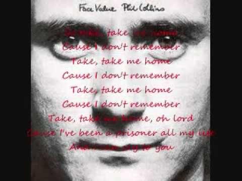 Phil Collins-Take Me Home (Lyric Video)