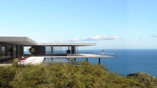 cote d\'azur | Homes in 2019 | Modern villa design ...