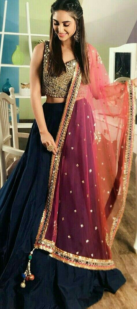 6fa37f36a3 Custom made lehenga Inquiries➡ nivetasfashion@gmail.com whatsapp + 917696747289 Nivetas Design Studio We ship worldwide delivery world wide # bridal ...