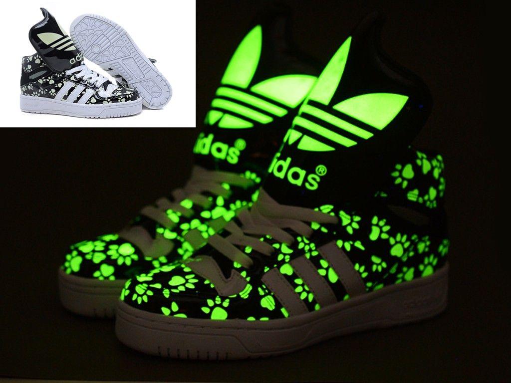 Pin by lai nin on Glow In The Dark Adidas | Sneakers nike