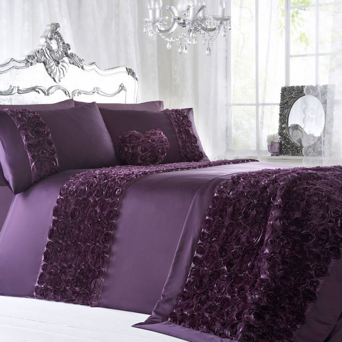 Star By Julien Macdonald Purple U0027Antoinetteu0027 Duvet Cover | Debenhams