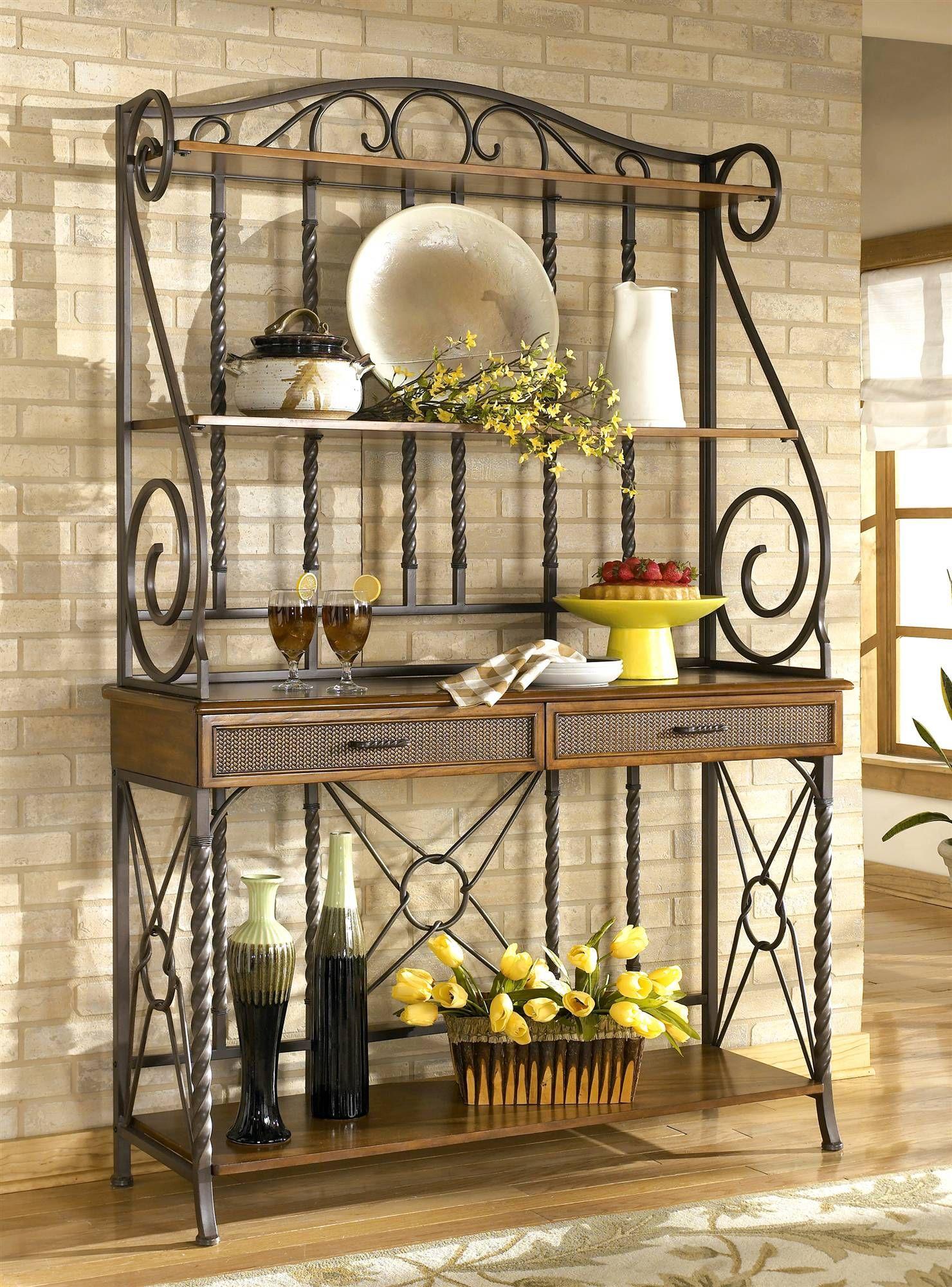 sleek designer bakers racks furniture | ... Bakers Rack ...