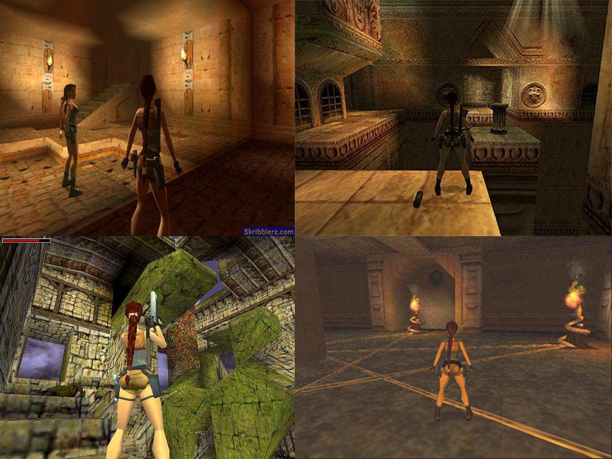 Playstation Pc Tomb Raider Iv The Last Revelation E O Quarto
