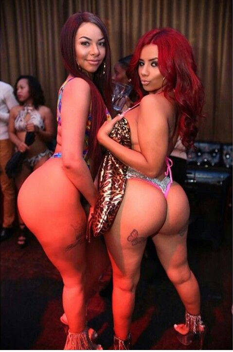 Latina and ebony lesbian
