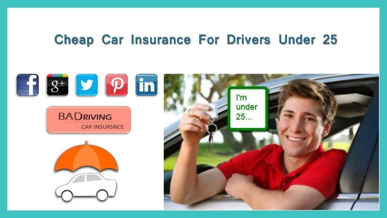 Cheap Car Insurance New Drivers Under 25 Car Insurance For 25