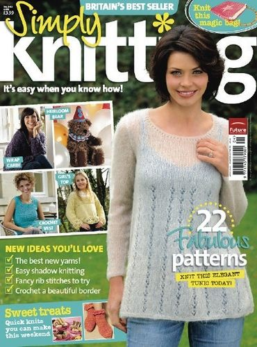 Ravelry: Simply Knitting 40, April 2008