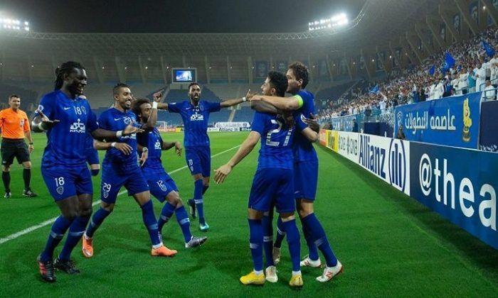 الهلال يفوز على شباب الأهلي دبي بأبطال آسيا Soccer Field Sports Soccer