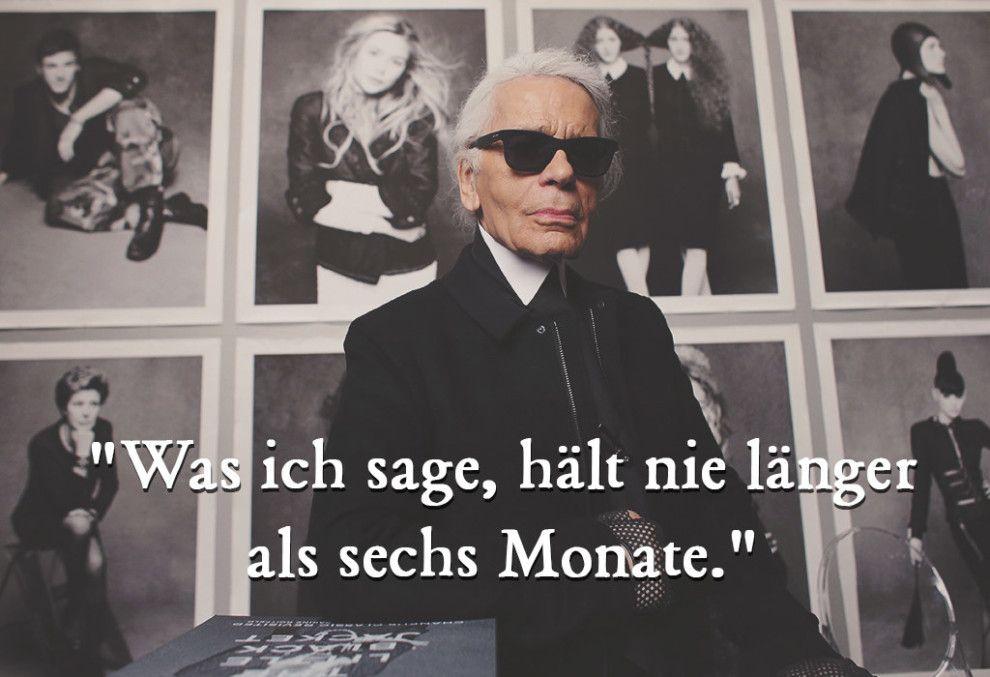 21 bissige Sprüche von Karl Lagerfeld, für die er unvergessen bleibt