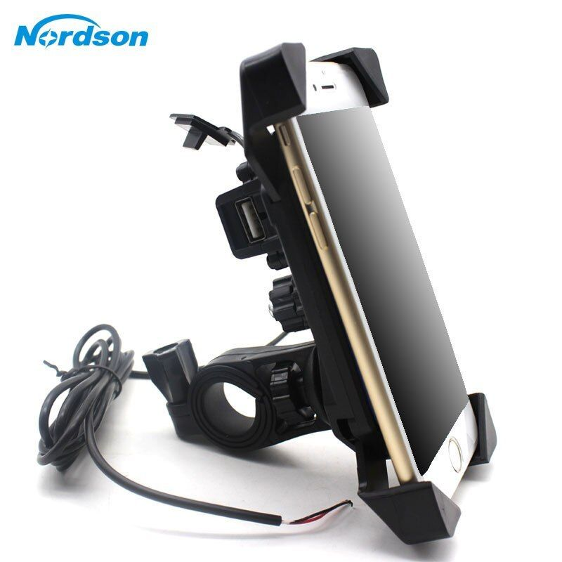 New Motorcycle Phone Holder With Usb Charger Mobile Phone Holder
