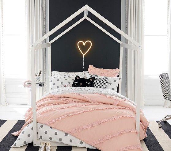 The Emily Amp Meritt Organic Doodle Sheet Set House Beds