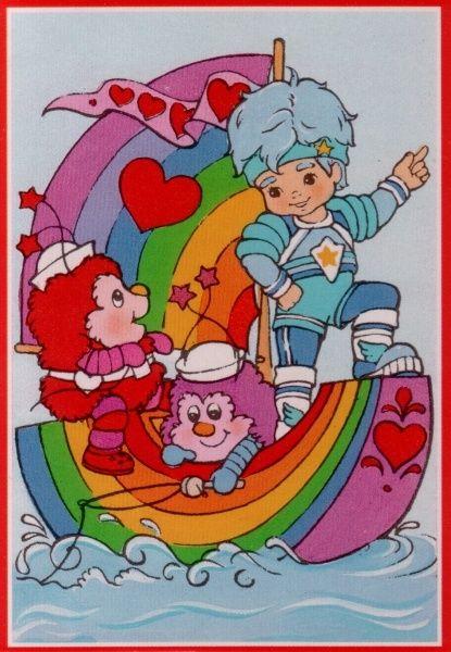 Rainbow brite buddy blue