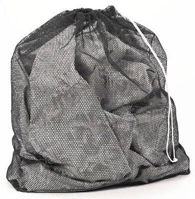 Laundry Bag Mesh Set Of 2 Black 27 X 36 By Guardian