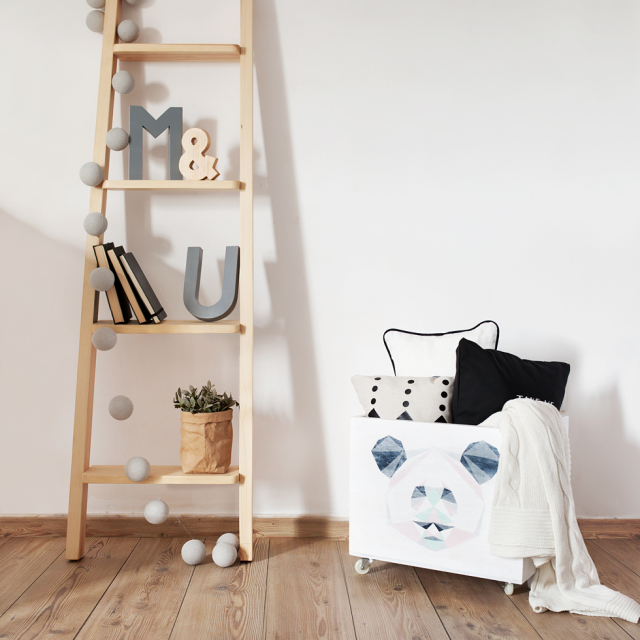 Escalera estanter a deco interiors interiors and decoration for Escaleras de madera decoracion ikea