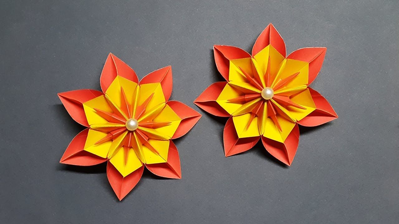 Amazing Paper Flowers For Home Decoration How To Make Paper