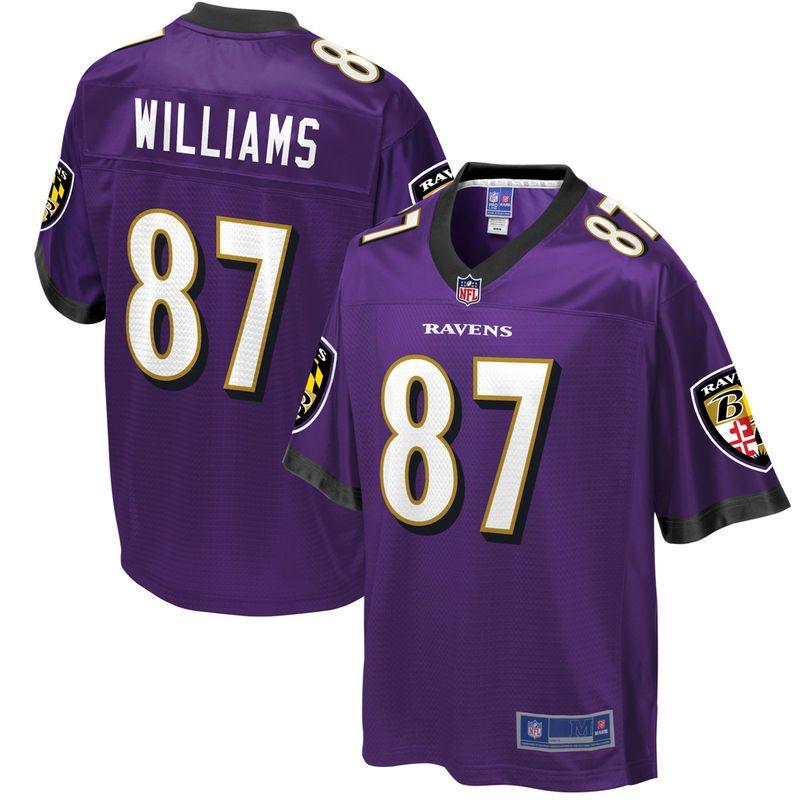 Men's Baltimore Ravens Maxx Williams NFL Pro Line Team Color Jersey