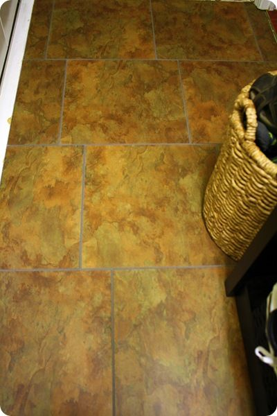 Wonderful Crazy That I Want To Put Fake Tile Over Real Tile, But I Want Darker · Easy FlooringFlooring  IdeasLaundry ...