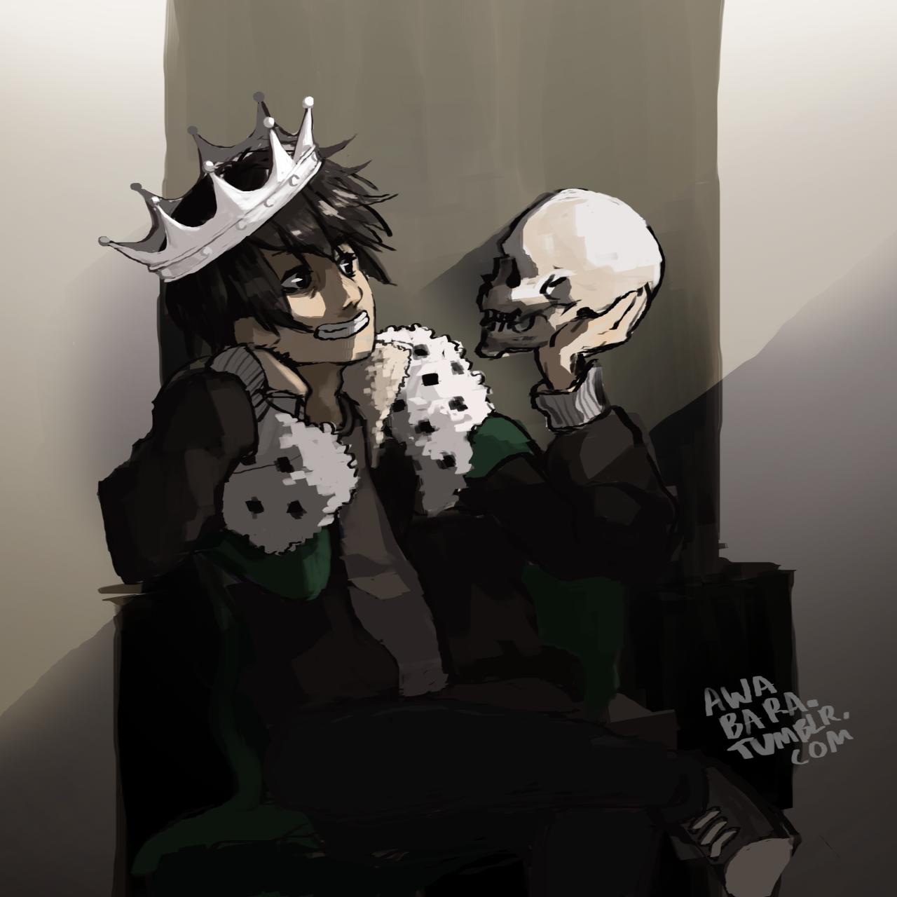 "awabara: "" Underworld's got a dork for a ghost king """