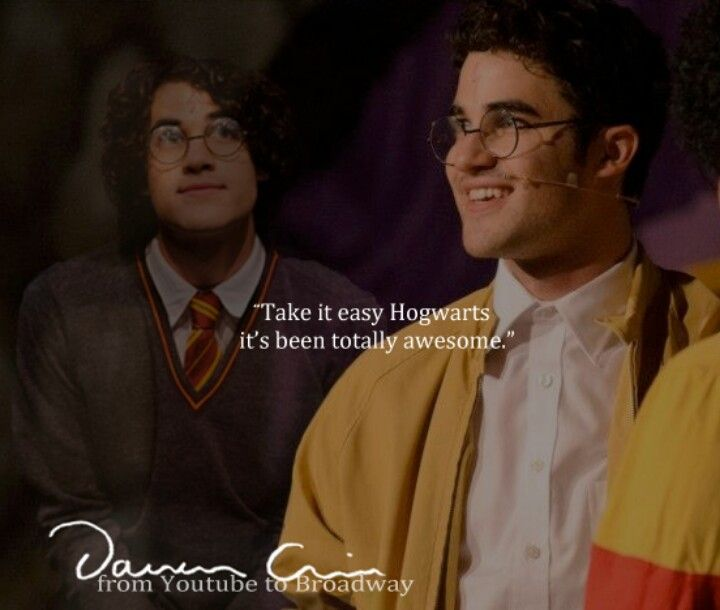Darrin Chis And Daniel Radcliffe Very Potter Musical Harry Potter Harry Potter Fantastic Beasts