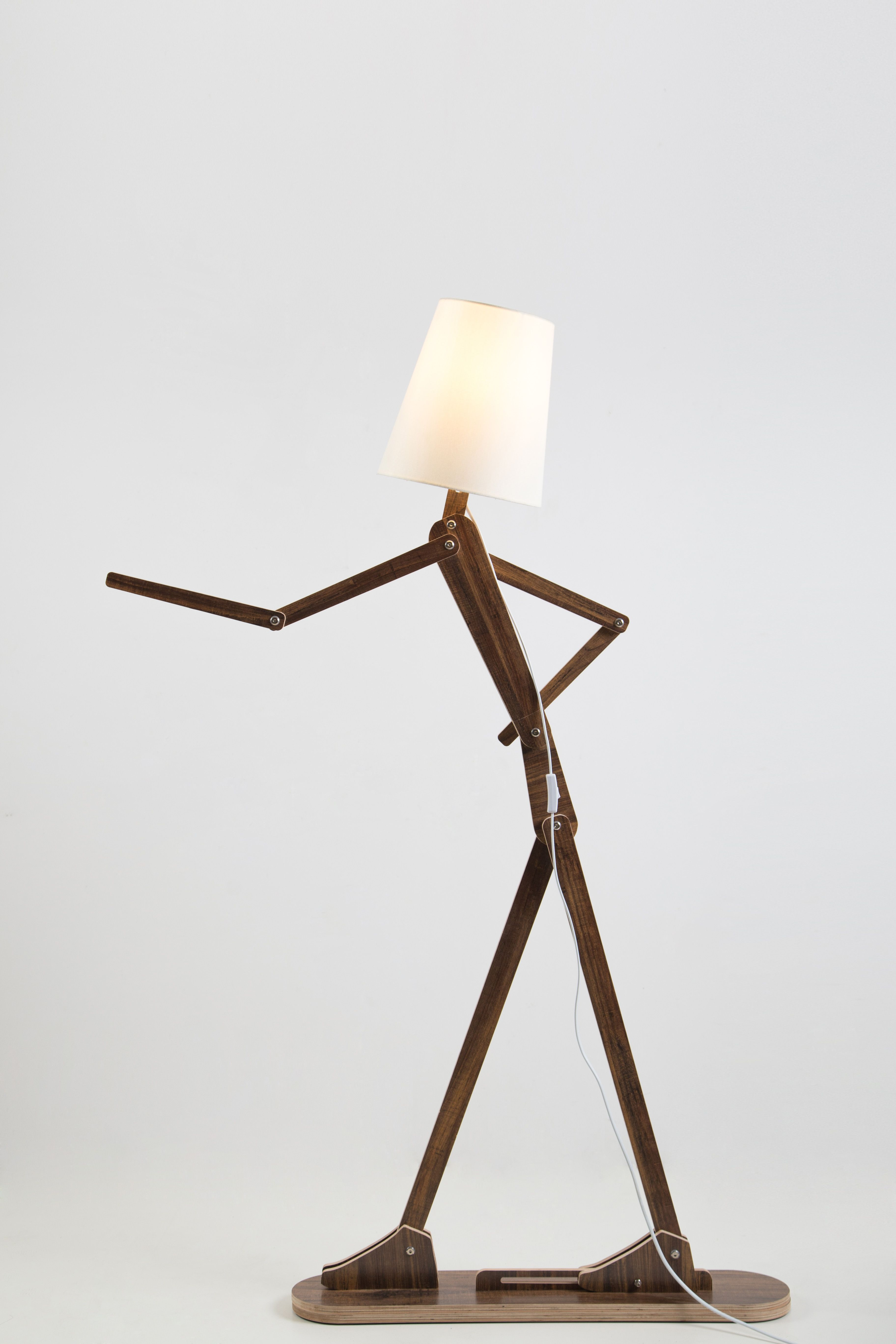 How To Make An Interesting Art Piece Using Tree Branches Ehow Lamp Standard Lamps Home Lighting