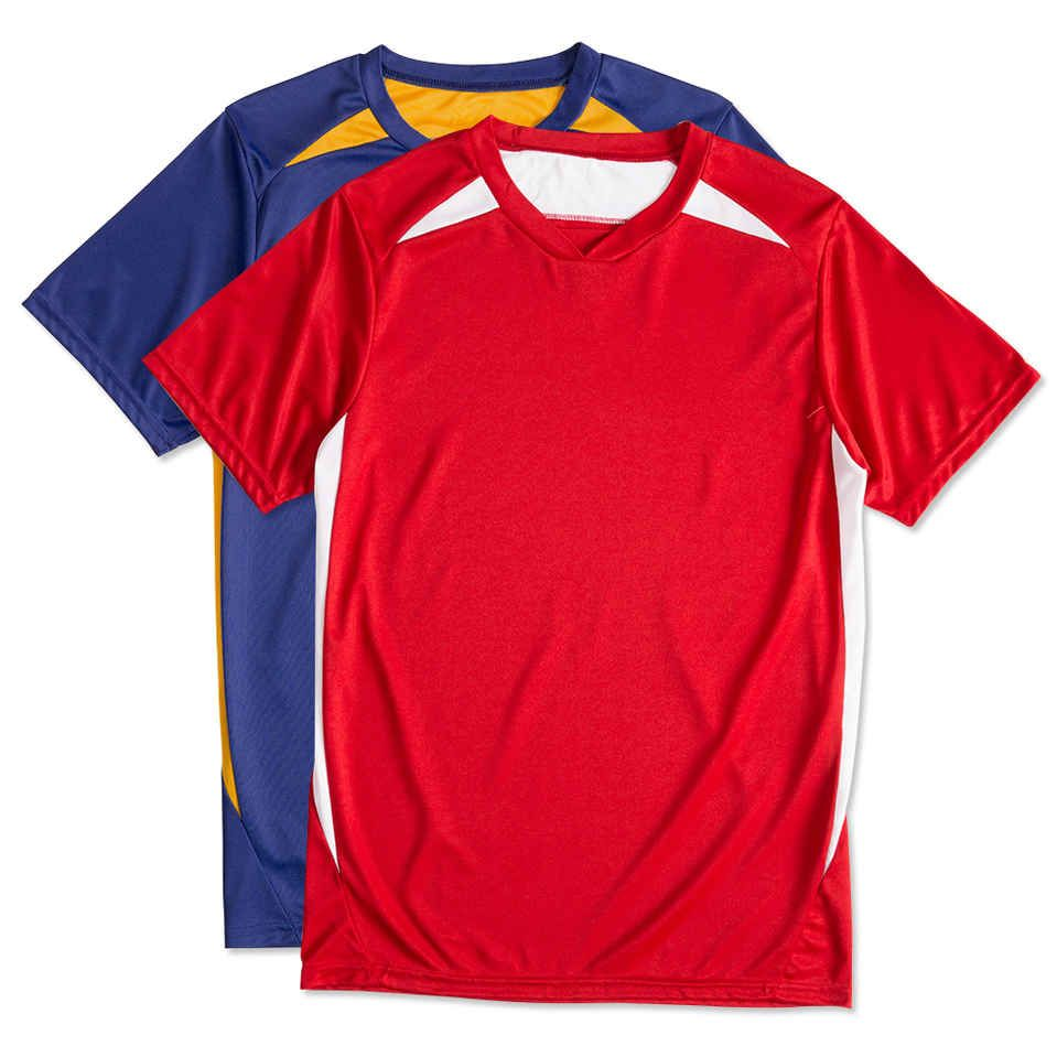 new style 82587 9587b High Five Contrast Performance Soccer Jersey - Orange ...