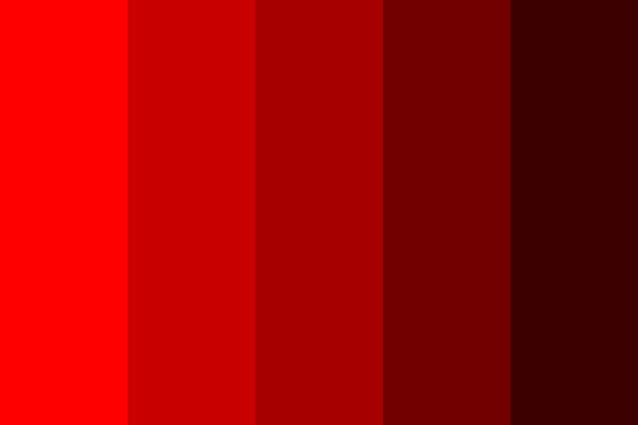 Redsd Color Palette In 2020 Red Colour Palette Color Palette Bright Lip Color Palette