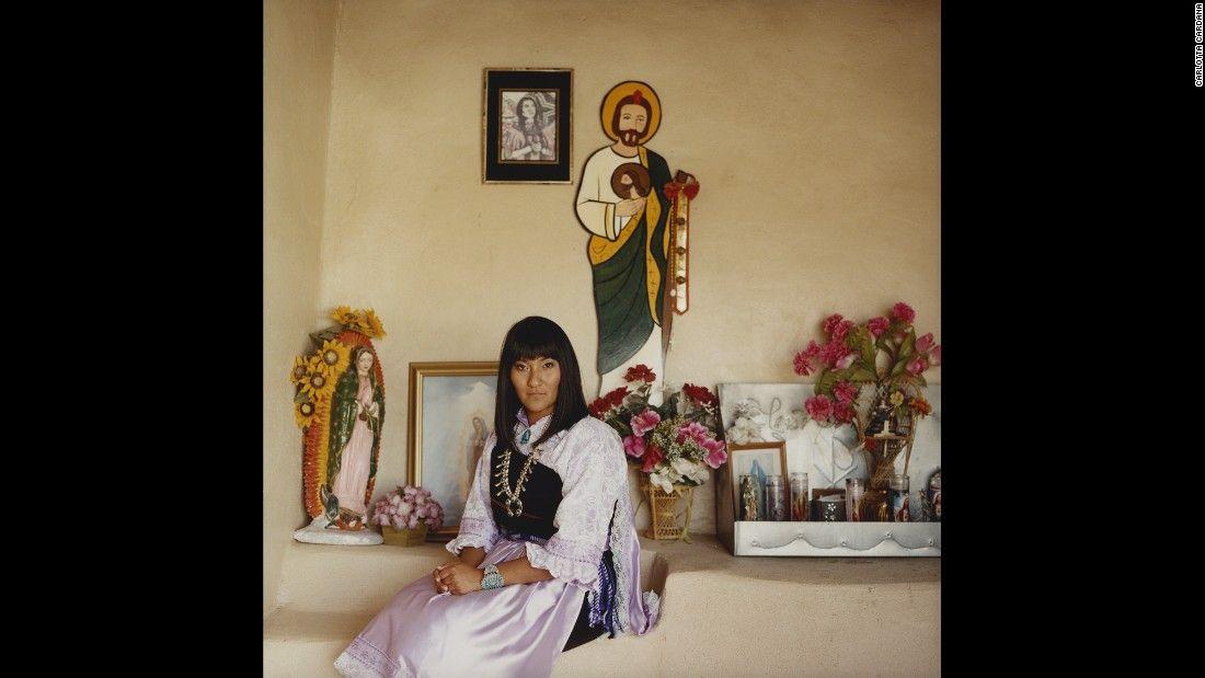 From the Isleta (Pueblo) tribe.
