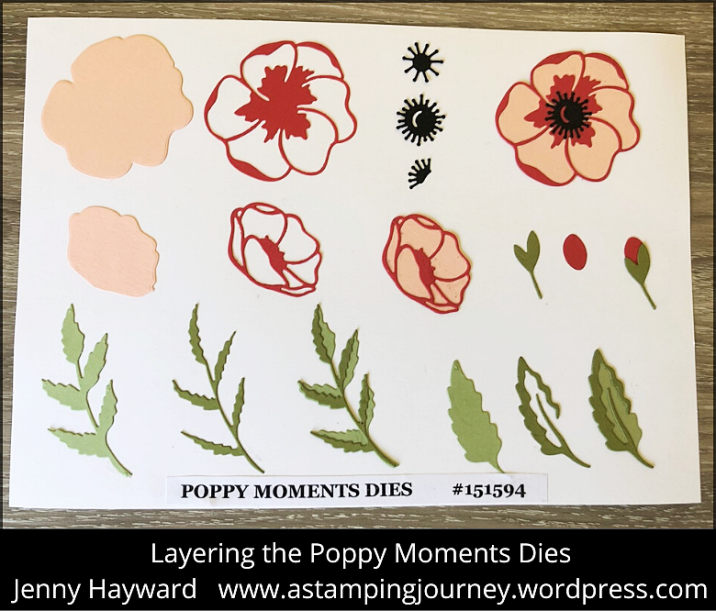 WEDNESDAY'S WOW! #93 – LAYERING THE POPPY MOMENTS DIES! – A Stamping Journey