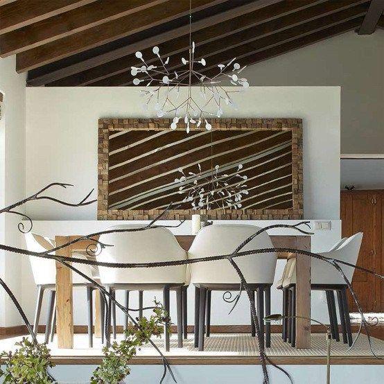 Estilo r stico renovado para una casa en la cerdanya - Arquitectura rustica moderna ...
