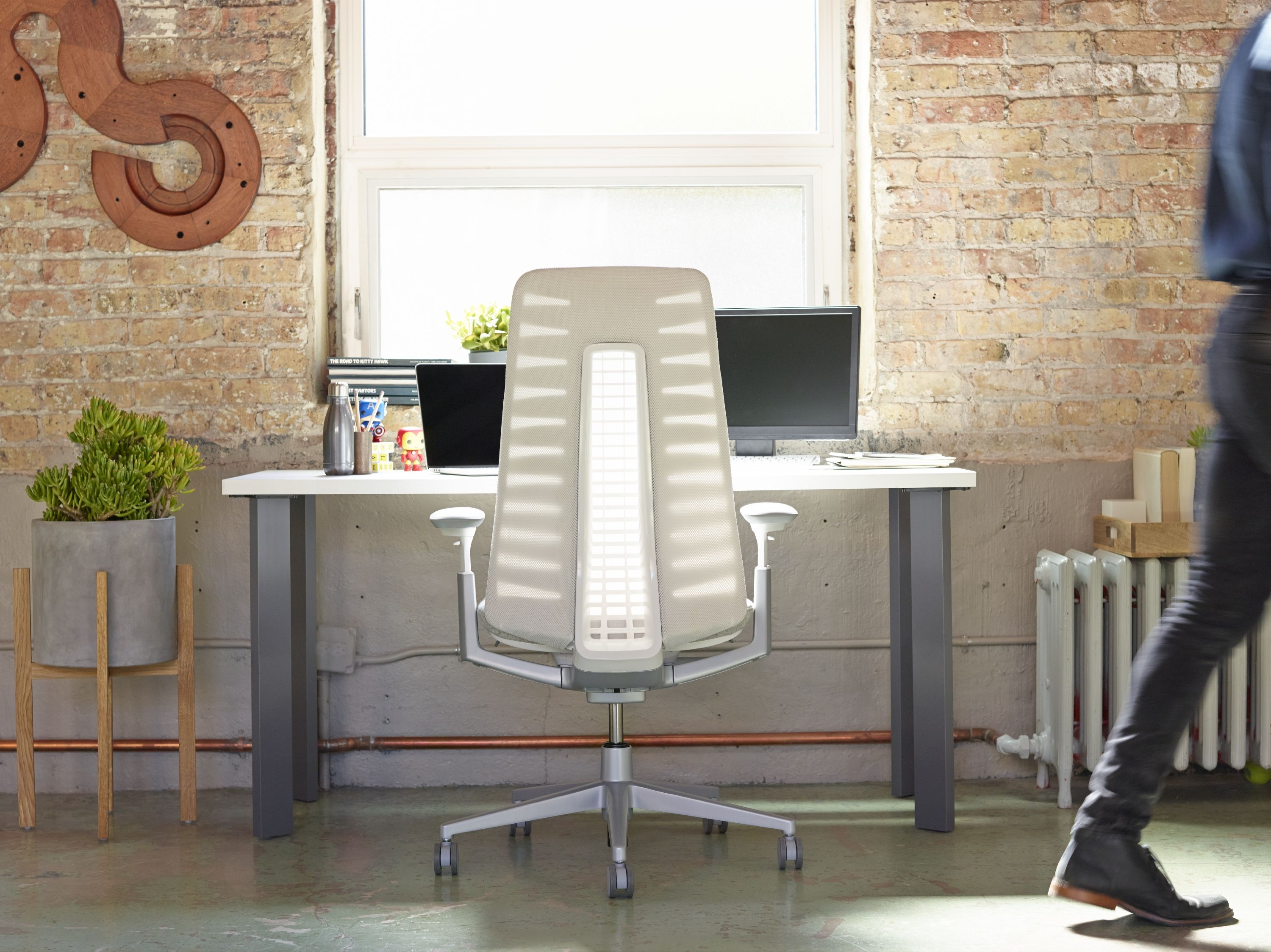 Introducing the Fern office #chair designed by Haworth Design